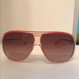 Pink Michael Kors Sunglasses Women's Aviators